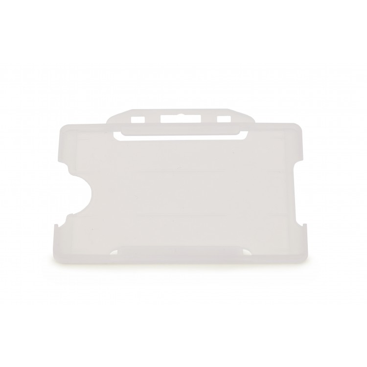 Clear Single-Sided ID Card Holder (86mm x 54mm Landscape)