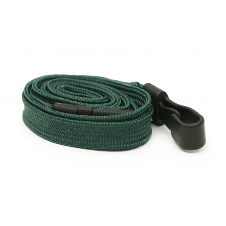 Dark Green Plain Lanyard
