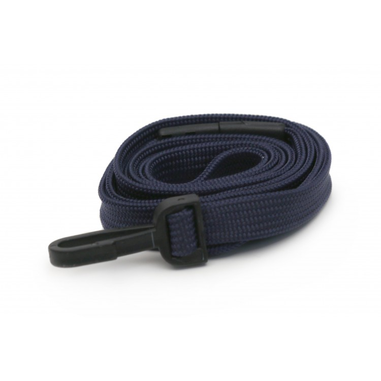 Dark Purple Plain Lanyard