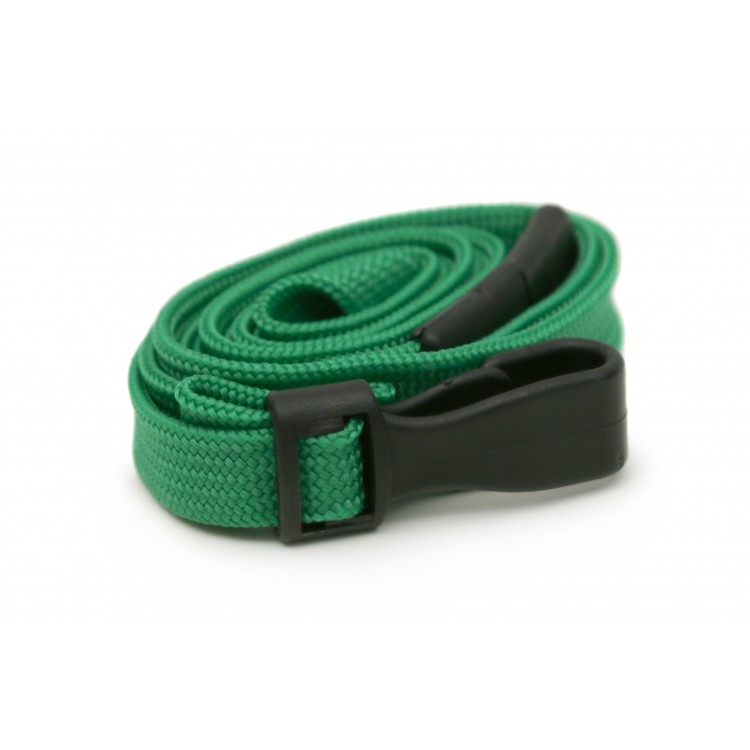 Green Plain Lanyard