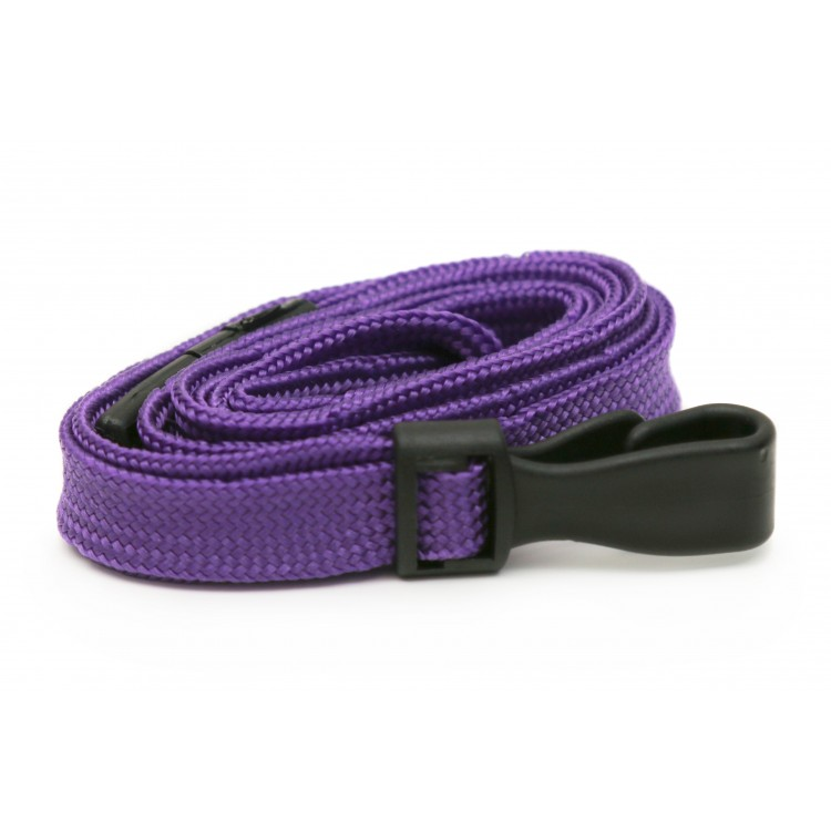 Purple Plain Lanyard
