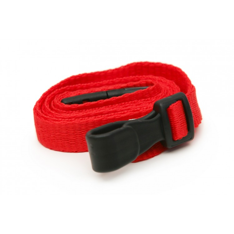 Red Plain Lanyard