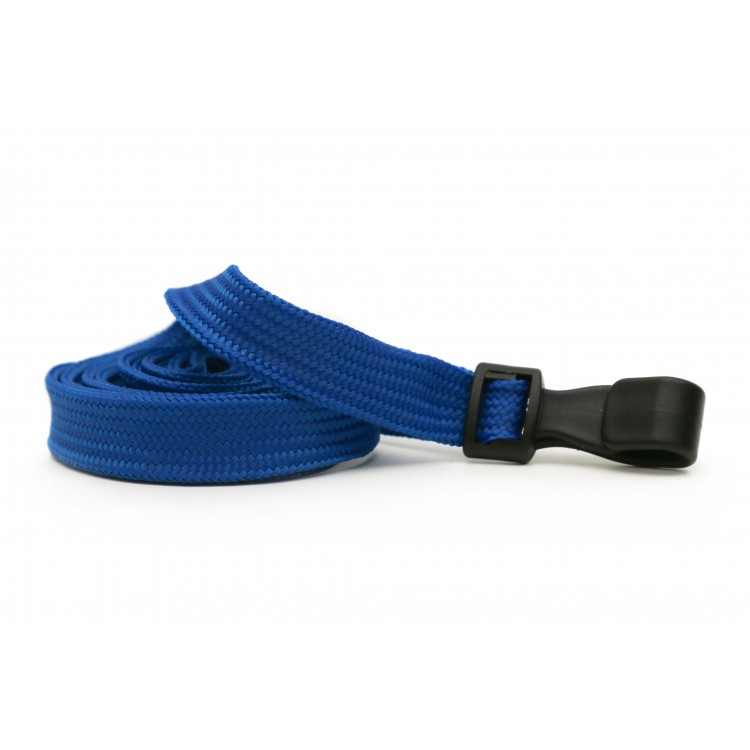 Royal Blue Plain Lanyard