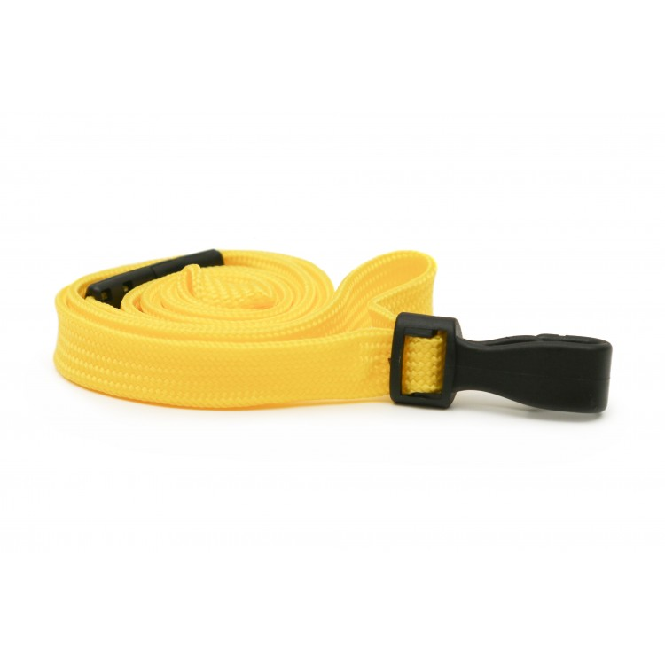 Yellow Plain Lanyard